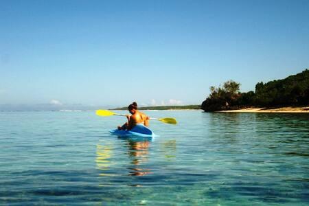 Fijian Dream in a private lagoon... - Sigatoka - Sommerhus/hytte