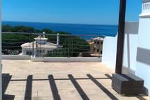 Sea Views on 3 sides!