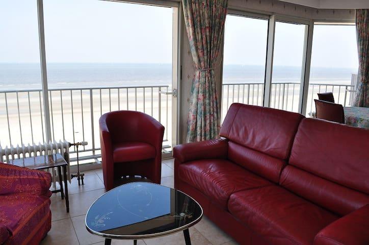 Bel appartement superbe vue sur mer - Koksijde - Wohnung