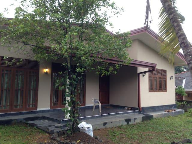 Sri Lanka - House Mattegoda 01/2015 - Kirigampamunuwa - Apartamento