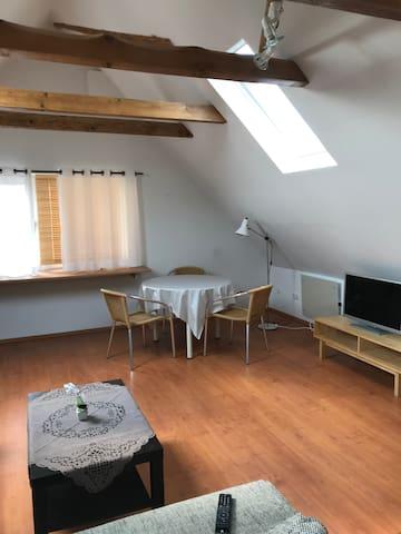 Ländliche Wohnung in Petershagen