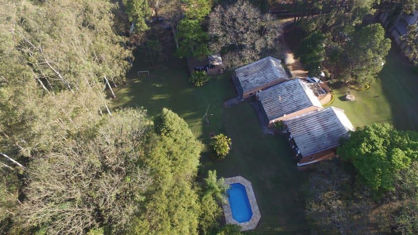 LINDO SÍTIO SOROCABA - piscina, quiosque, campo