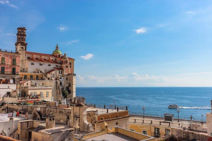 Sunny apartment on the Amalfi Coast - Atrani - Appartement