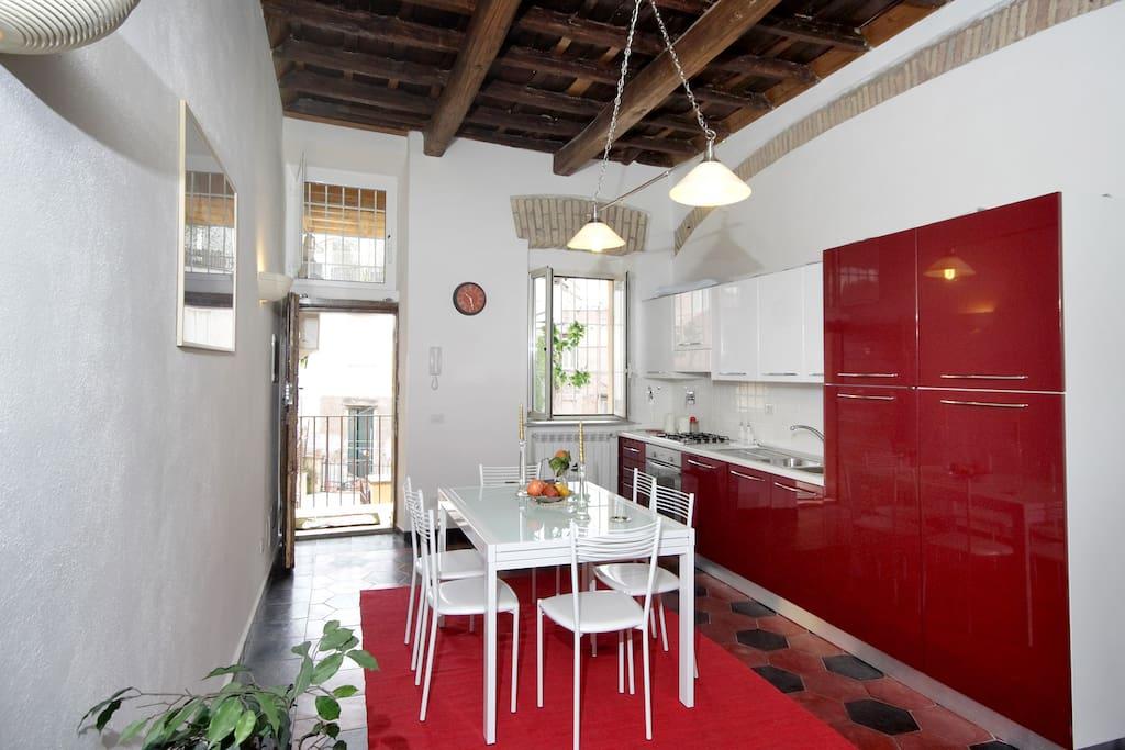 Rome center trastevere wifi appartamenti in affitto a for Affitto uffici roma trastevere