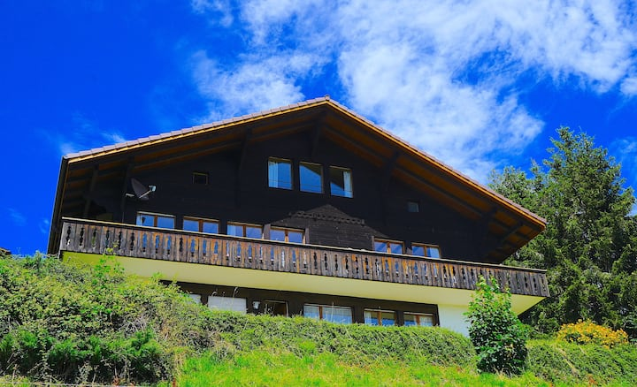 🇨🇭Authentic Chalet❤️Splendid Views🇨🇭