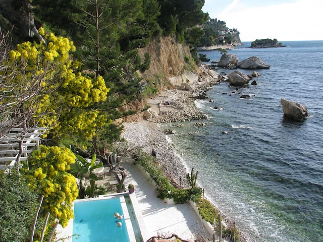 DIRECT FRONT BEACH - Èze - Apartment