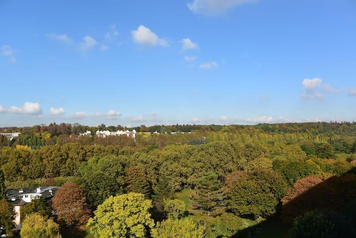 Un coin pour voyageurs, vue panoramique