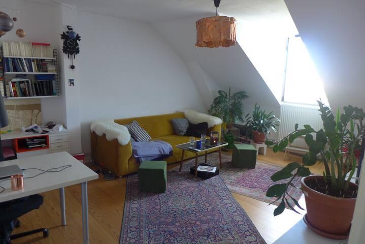 Superzentrale Wohnung im schönen St. Georg - Hamburg - Apartament
