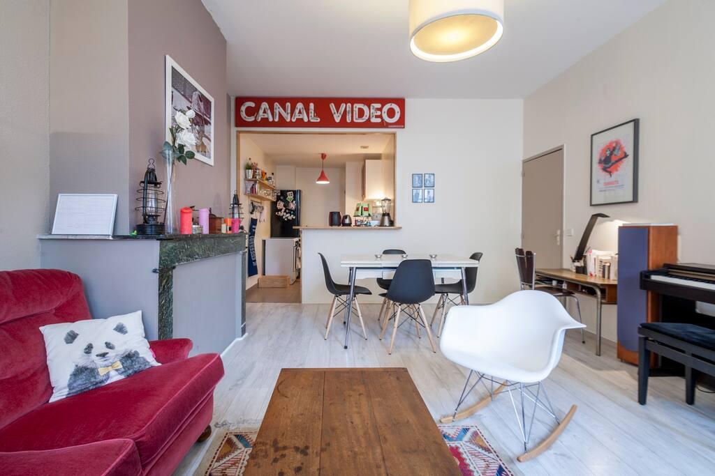 T3 vieux bordeaux centre 2 chambres appartements louer for Louer chambre bordeaux