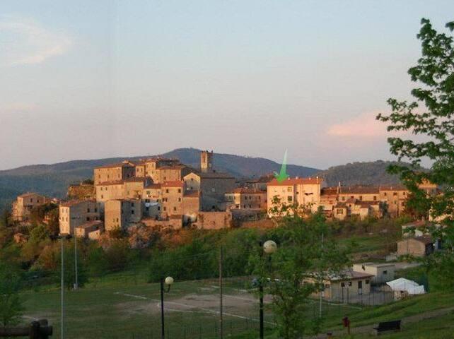 Ersilia's home - Torniella, Tuscany
