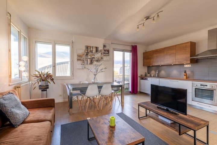 Appartement des 4 saisons, 6 pers, T3 de 80m²