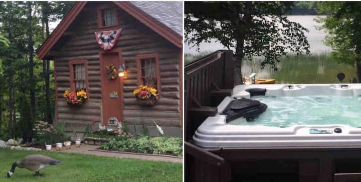 BUCKET LIST! 100+Yr.Old Bonnie Lass Cabin in Maine