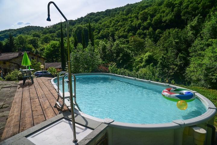 Casa privata con piscina esclusiva, Mugello (Fi)