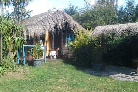 Cabaña en la Barra, cerca de la playa y negocios. - La Barra - Ξυλόσπιτο