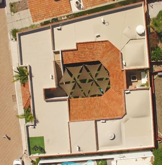 Ariel view of Hacienda Babbitt