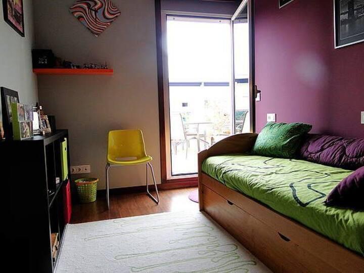 Habitación en un dúplex acogedor con terraza