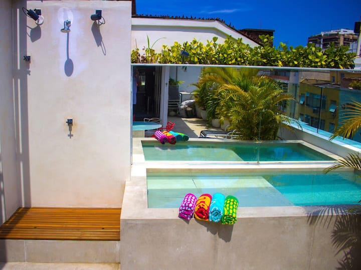 Fantastic penthouse with private pool!  @Ipanema