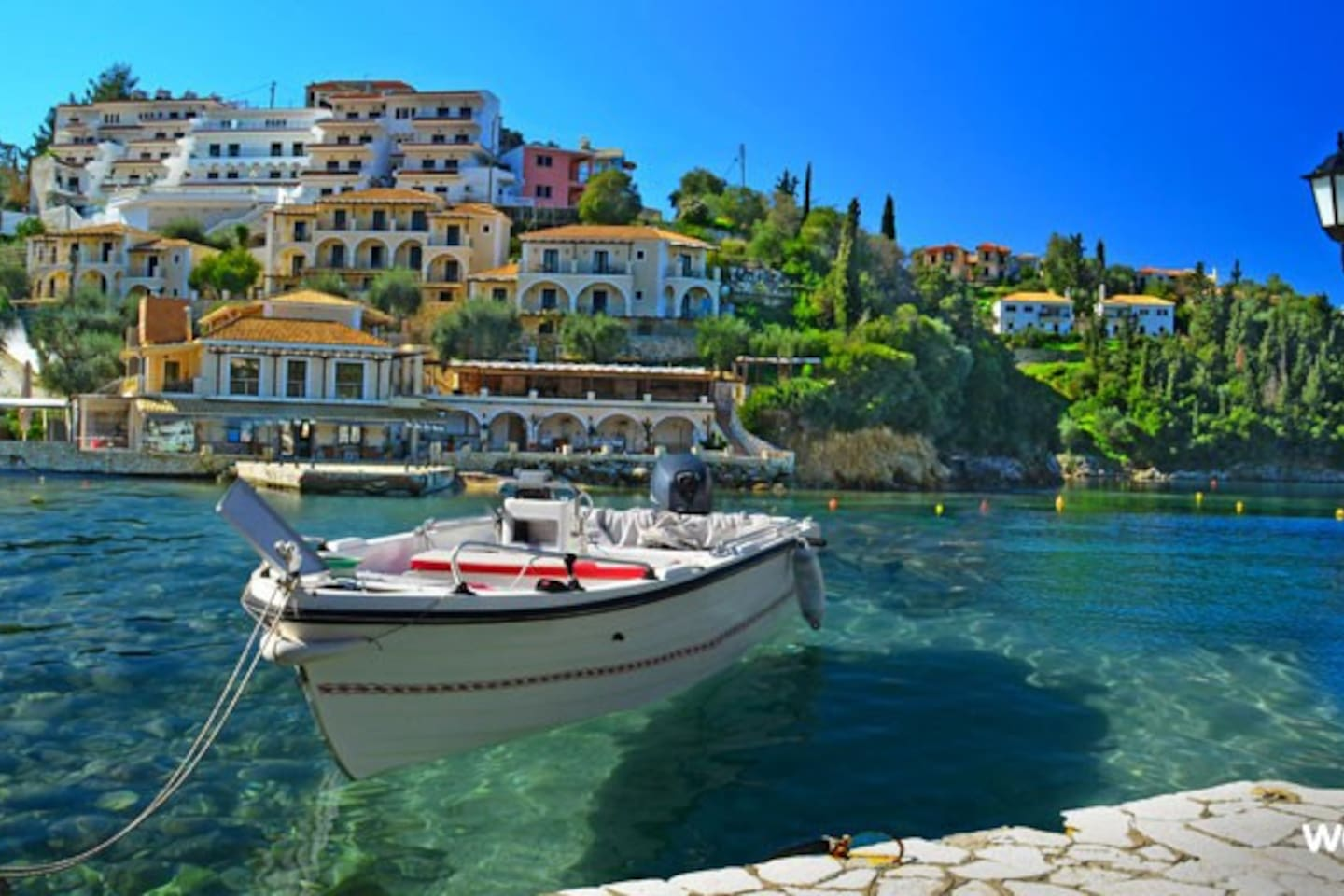 port of syvota - 100mt far from the apartment