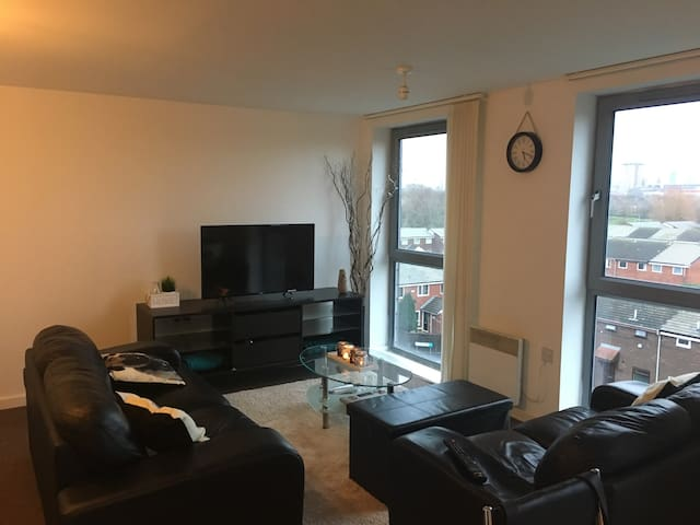 Lovely apartment in Salford Quays - Salford - Appartement
