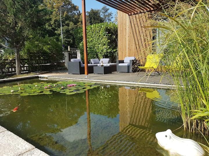 Caluire chalet zen à 5 mn du ParcTête d'Or