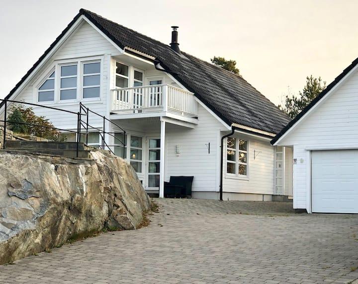 Stort og barnevennlig feriehus