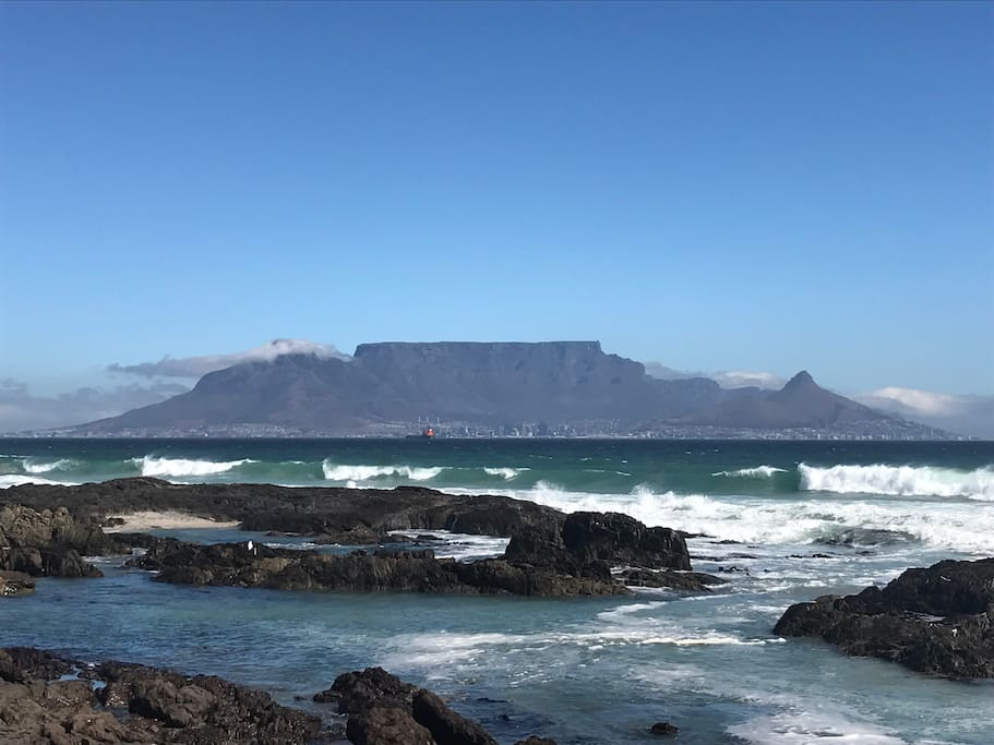 View from blouberg Strand (5 min Walk)