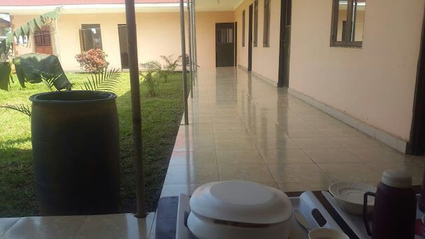 Our spacious serene environment well open spaces.