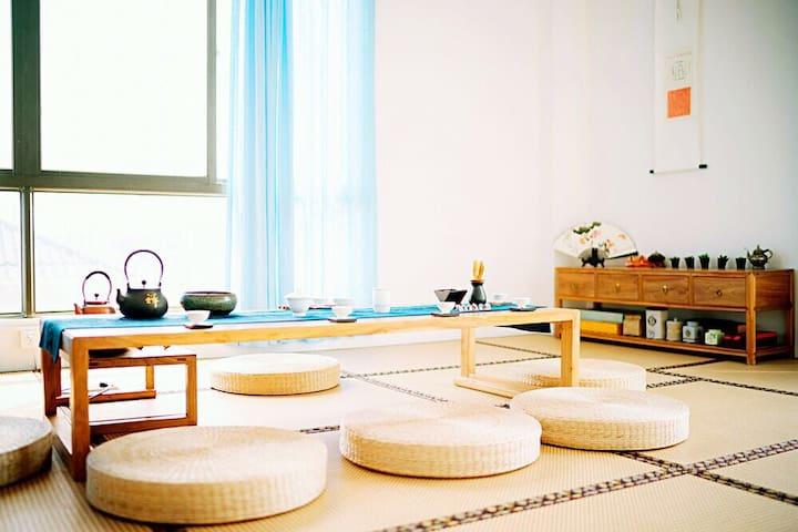 长隆门口/董小姐和傅小姐的心情茶室/静心的小资生活/近广州南站 - Guangzhou - Apartamento