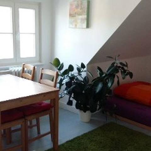 Schnuckliges Dachgeschoss-Zimmer im Altbau