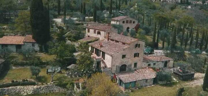 Celle di Lecchi Nel Chianti Siena, Casa Padronale