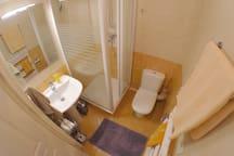 Double guest bathroom