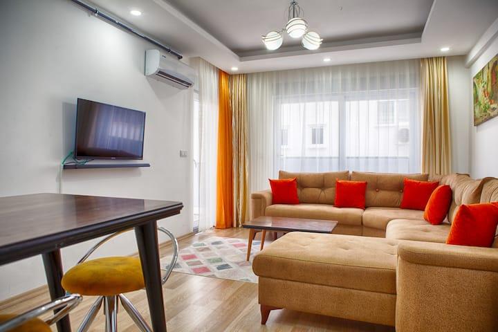KONYAALTI  Beach-Luxury Homes -1+1      6