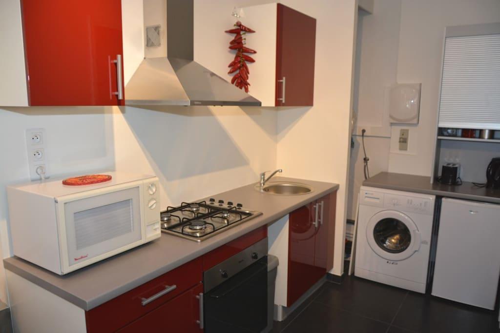 studio 30m2 meubl et ind pendant appartements louer saint vincent de tyrosse aquitaine. Black Bedroom Furniture Sets. Home Design Ideas