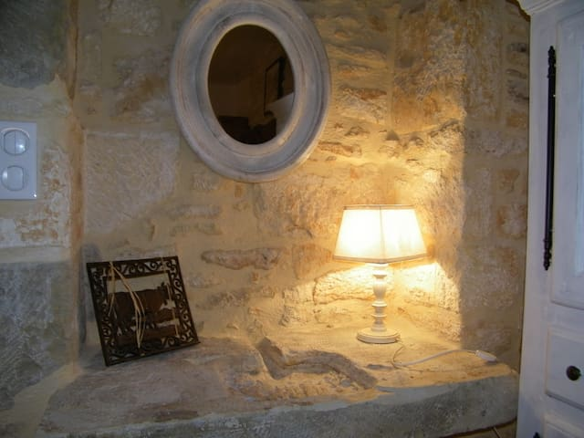 Luxury stone house in Dordogne 5 p. - La Dornac - Huis