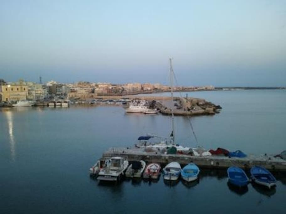 Veduta porto di Gallipoli