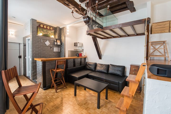 Small loft in the heart of Paris