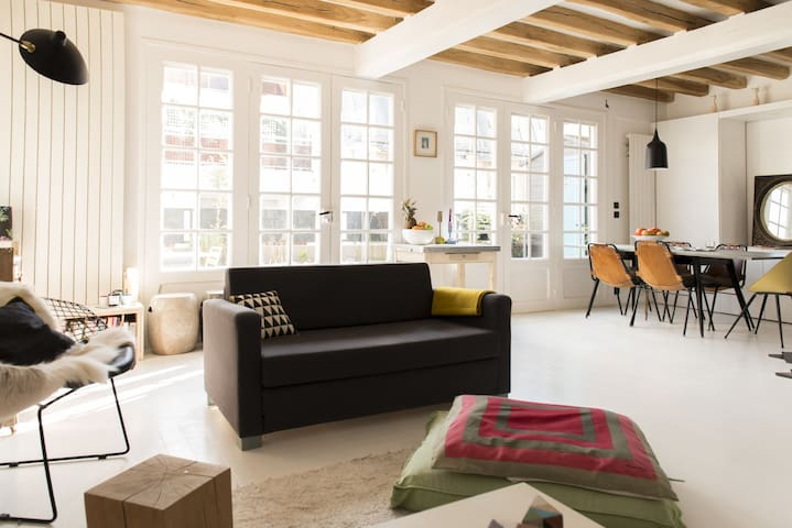 The White & Cosy Flat - Paris - Wohnung