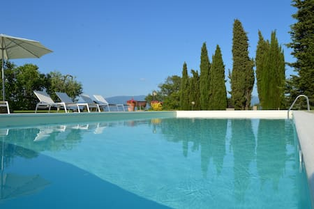 Apartment with pool Chianti hills - Greve in Chianti  - Byt