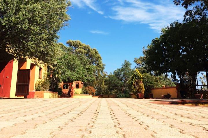 Agriturismo riserva naturale Sardegna
