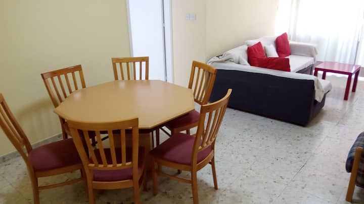 Entire, 2 bedroom apt in heart of Nicosia