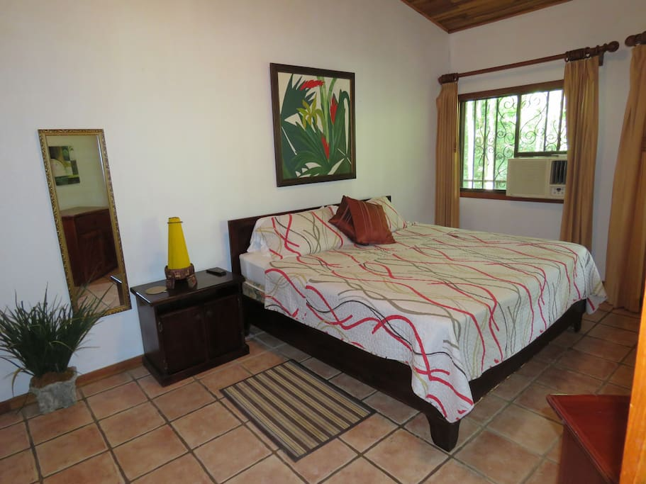 Large Master bedroom in  3 bedroom-2 bath Alma Pacifica with ensuite and California King Bed
