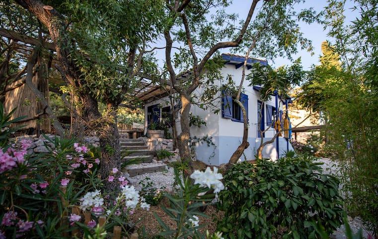Une maison vue sur mer ambiance cabane de pêcheur