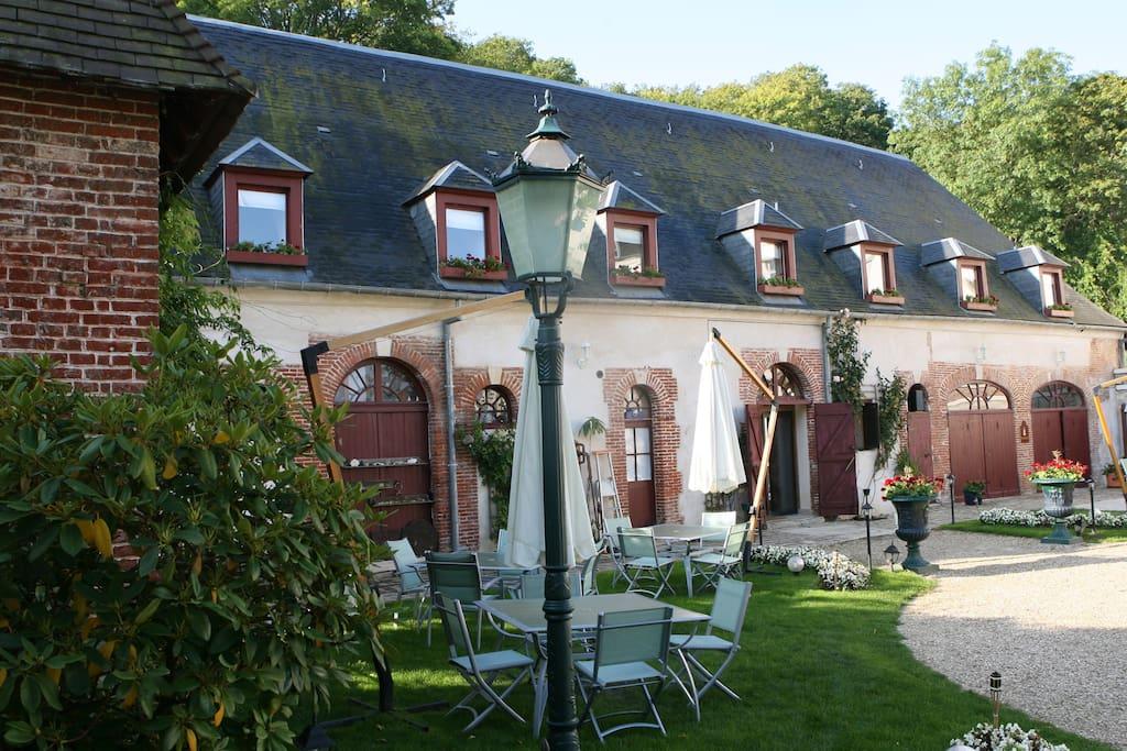La folie du jard casas en alquiler en chaumont en vexin picardie francia - Casas de alquiler en francia ...