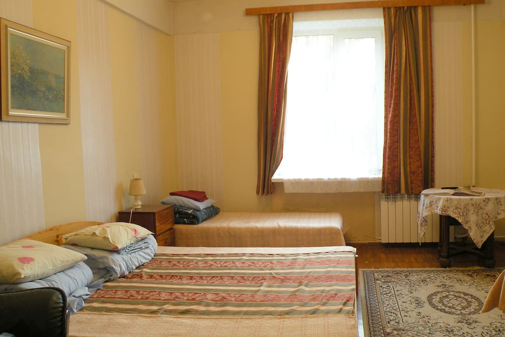 Bedroom for 4 persons with flat TV screen