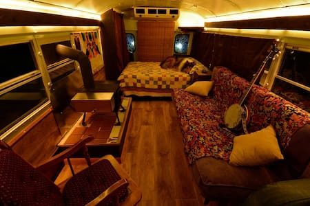 Cozy School Bus Conversion - Shepherdstown
