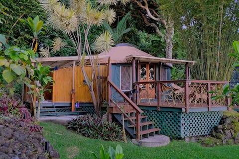 Tara Farms Jungle Yurt