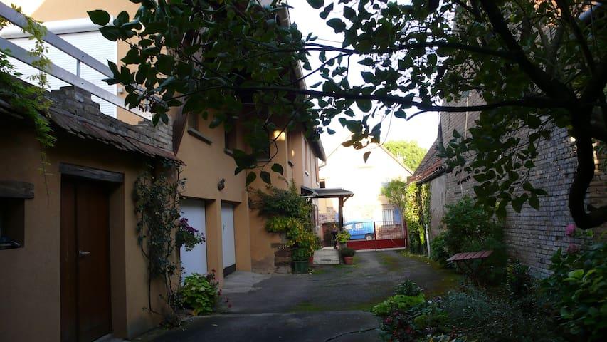 2 Chambres à louer (prix unitaire)- MINI 2 nuitées - Ittenheim - House