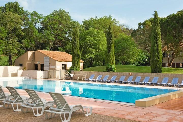 Appartement provençal cosy | Salle de Fitness, 2 Piscines, Spa!