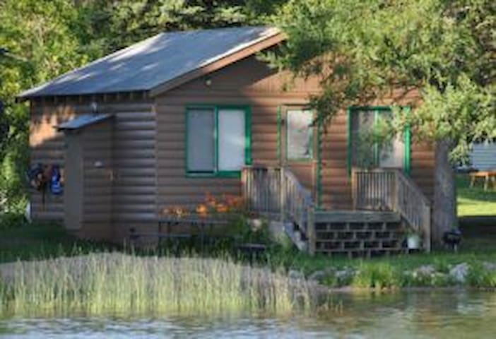 2BR Cabin on clean, clear Lake Ida (#3)