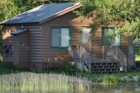 2BR Cabin on clean, clear Lake Ida (#3)